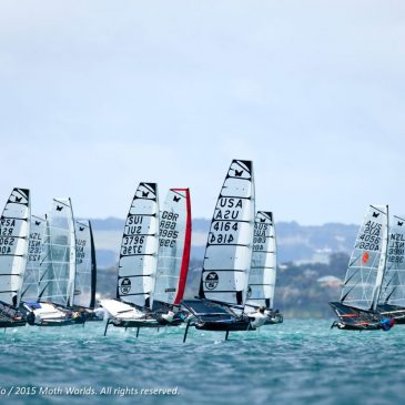 Record fleet for 2017 Moth Worlds